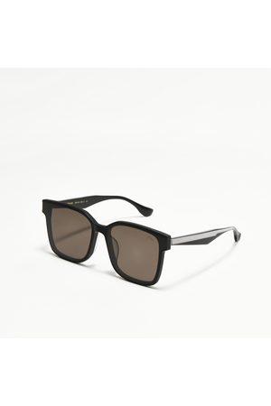 Evisu Monogram Temple Square Sunglasses