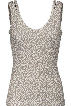 Varley Dixon leopard printed tank top