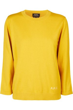 A.P.C. Kourtney cotton and cashmere sweater