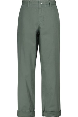 A.P.C. Gaëlle low-rise straight cotton pants