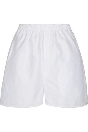 Cecilie Bahnsen Women Shorts - Nivi high-rise matelassé shorts