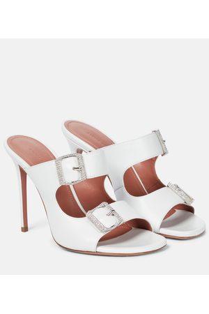 Amina Muaddi Marni leather sandals
