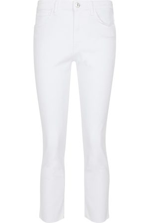 3x1 Women High Waisted - W3 straight-leg cropped jeans