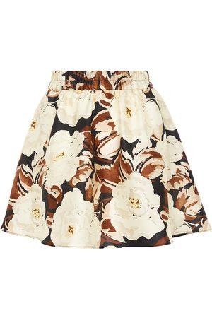 SIR Women Mini Skirts - Vivienne silk miniskirt