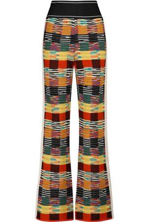 Palm Angels X Missoni wool-blend pants