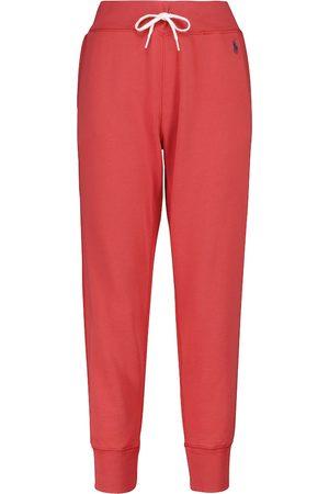 Polo Ralph Lauren Cotton-blend fleece sweatpants