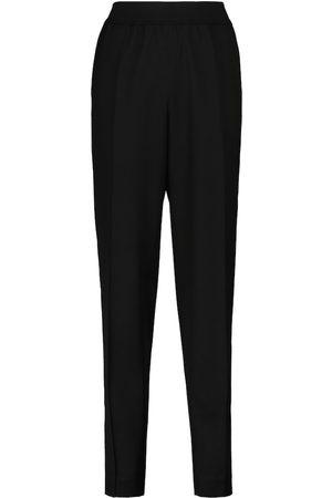 Jil Sander High-rise slim virgin wool pants