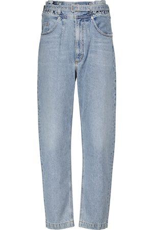 AGOLDE Women High Waisted - Riya high-rise tapered jeans