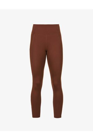 GIRLFRIEND COLLECTIVE Women Sports Leggings - Compressive high-rise stretch-recycled polyester leggings