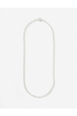 Hatton Labs Men Necklaces - Classic Rope sterling necklace