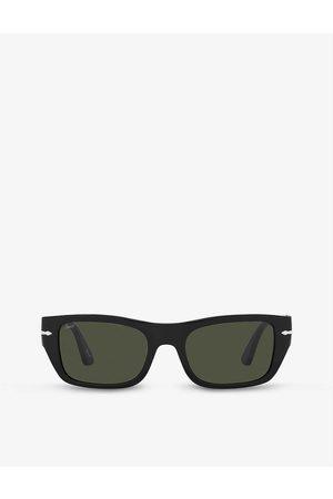 Persol PO3268S rectangle-frame acetate sunglasses
