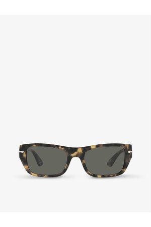 Persol PO3268S rectangular-frame acetate sunglasses