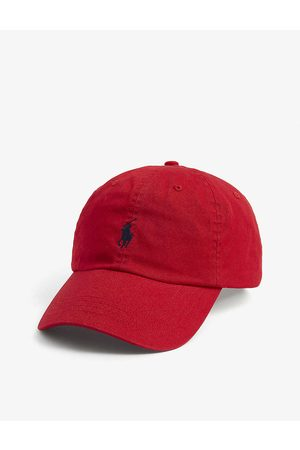 Polo Ralph Lauren Men Caps - Pony logo-embroidered cotton cap