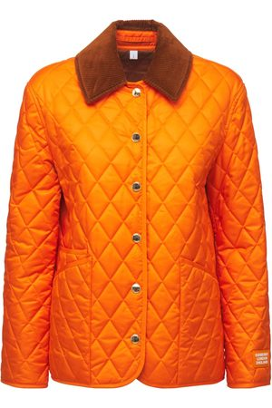 BURBERRY Dranefeld Check Quilted Jacket