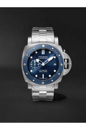 PANERAI Submersible Blu Notte Automatic 42mm Stainless Steel Watch, Ref. No. PAM01068