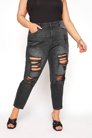 Yours Extreme Distressed Mom Jean