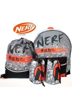 Nerf Backpack With Dart Pouch & Trainer Bag