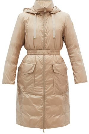 Moncler Ecbalie Logo-appliqué Quilted Down Coat - Womens