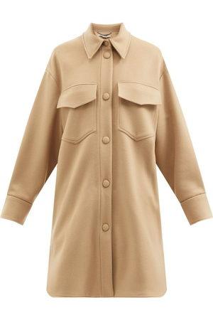 Stella McCartney Kerry Patch-pocket Wool Jacket - Womens - Camel