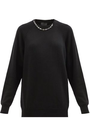 Givenchy Chain-embellished Cashmere Sweater - Womens