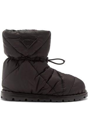 Prada Women Boots - Padded Re-nylon Après-ski Boots - Womens