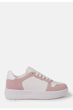 Missguided Blush Contrast Panel Trainers