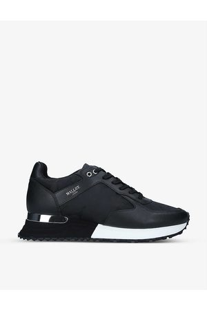 Mallet Lux 2.0 Runner leather and fabric trainers