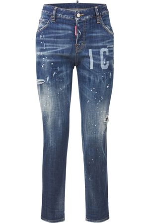 Dsquared2 Girls Jeans - Icon Cool Girl Jean Cotton Jeans