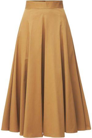 Dsquared2 Women Midi Skirts - Stretch Cotton Twill Midi Skirt