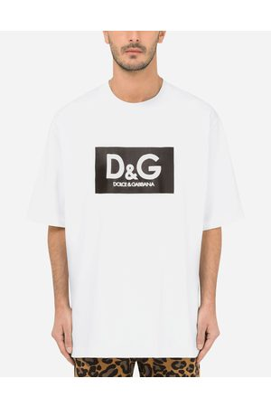 Dolce & Gabbana T-Shirts and Polos - Cotton T-shirt with D & G print male M