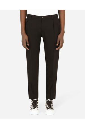 Dolce & Gabbana Collection - Wool pants male 44