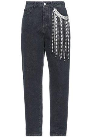 CIRCUS HOTEL Women Trousers - DENIM - Denim trousers