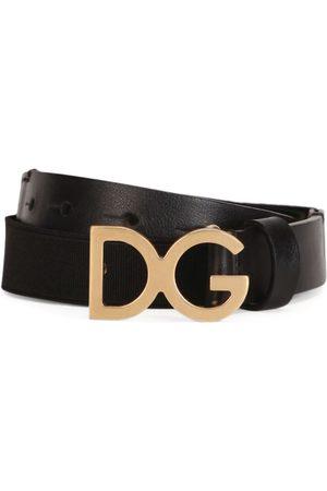 Dolce & Gabbana Kids Logo Belt