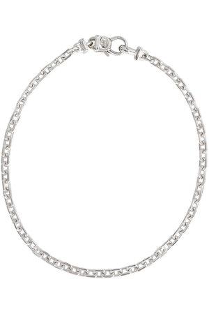 "TOM WOOD Anker 7.7"" sterling silver bracelet - Metallic"