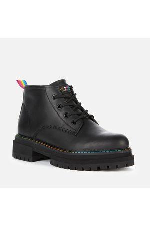 Kurt Geiger Women Ankle Boots - Women's Birdie Low Leather Ankle Boots