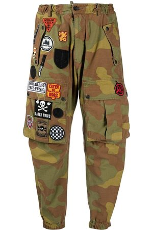 Dsquared2 Camouflage-print cargo trousers