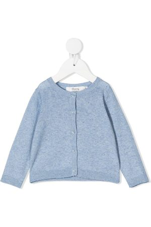 BONPOINT Rib-trimmed knitted cardigan