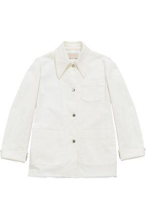 Christopher Kane Organic cotton denim jacket