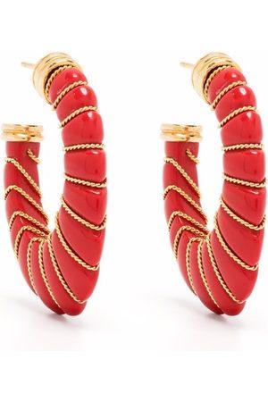 Gas Bijoux Cyclade hoop earrings