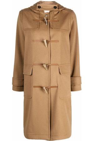 Mackintosh Women Duffle Coats - INVERALLAN duffle coat - Neutrals