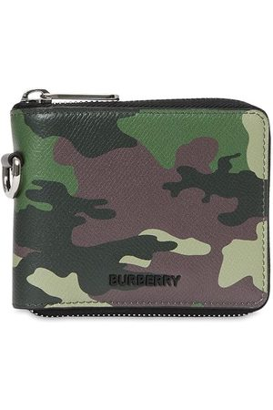 Burberry Camouflage-print wallet