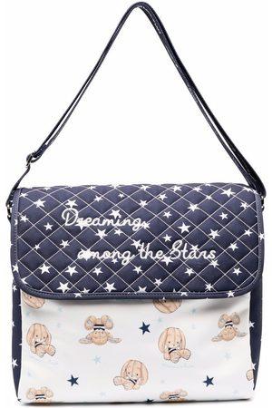 Monnalisa Baby Baby Changing Bags - Logo graphic print changing bag