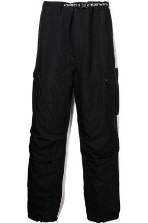 Alexander Wang Hybrid logo-tape cargo pants