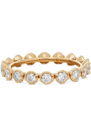 ANNOUSHKA Women Rings - 18kt yellow Marguerite diamond eternity ring