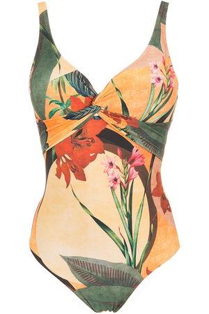 Lygia & Nanny Adriana floral-print swimsuit