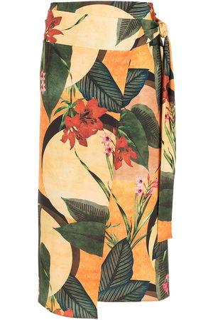Lygia & Nanny Orixa floral-print skirt