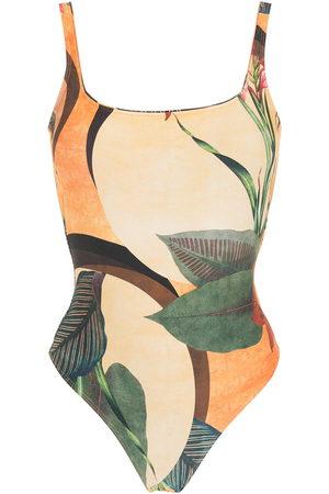 Lygia & Nanny Floral print one-piece swimsuit