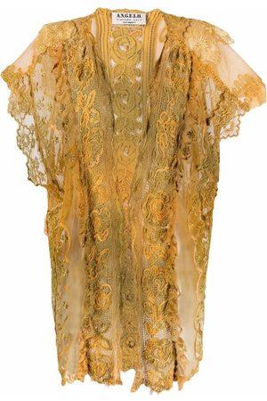 A.N.G.E.L.O. Vintage Cult Women Short Sleeve - 1970s sheer panelled short-sleeved jacket