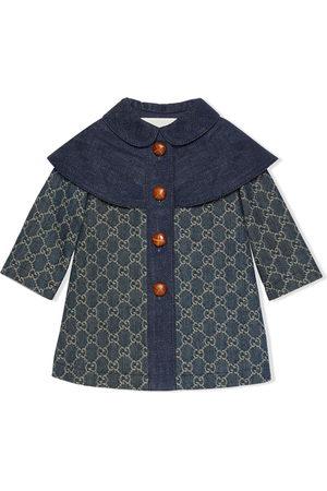 Gucci GG jacquard denim coat