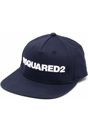 Dsquared2 Kids Boys Hats - Logo-embroidered cap